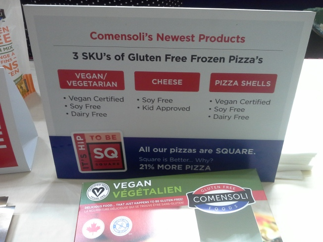 natrual products expo west review - gf vegan pizza