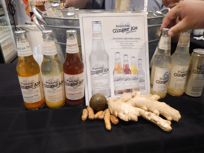 natrual products expo west review - ginger ale
