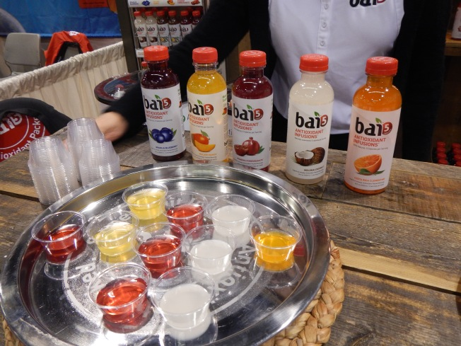 natrual products expo west review - bai drinks