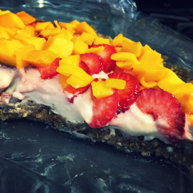 fresh fruit cheesecake tart