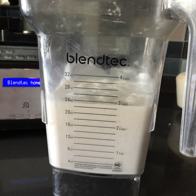 blended yogurt