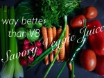 Way better than V8 Savory Veggie Juice (Alkaline, Body Ecology, Raw)